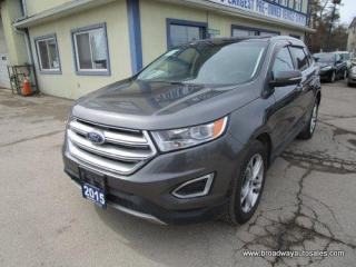 Used 2015 Ford Edge ALL-WHEEL DRIVE TITANIUM EDITION 5 PASSENGER 3.5L - V6.. NAVIGATION.. LEATHER.. HEATED/AC SEATS.. POWER SUNROOF.. BACK-UP CAMERA.. BLUETOOTH.. for sale in Bradford, ON