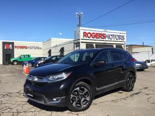 Used 2017 Honda CR-V 2.99% Financing - TOURING AWD - NAVI - PANO ROOF - LEATHER for sale in Oakville, ON