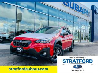 New 2021 Subaru XV Crosstrek Outdoor w/ Eyesight for sale in Stratford, ON