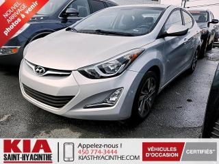 Used 2016 Hyundai Elantra GLS * TOIT OUVRANT / SIÈGES CHAUFFANTS for sale in St-Hyacinthe, QC