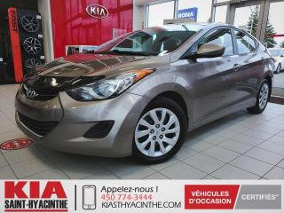 Used 2013 Hyundai Elantra GL ** SIÈGES CHAUFFANTS / BLUETOOTH for sale in St-Hyacinthe, QC