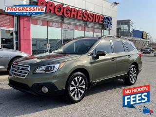 Used 2016 Subaru Outback 3.6R Limited Package NAV. LEATHER. HEATED SEATS. SUNROOF for sale in Sarnia, ON