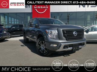 New 2021 Nissan Titan SV for sale in Kingston, ON
