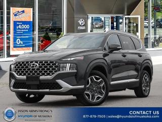 New 2021 Hyundai Santa Fe HEV Preferred w/Trend Package for sale in Huntsville, ON