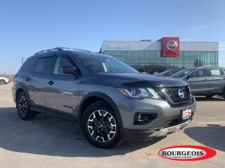 Used 2020 Nissan Pathfinder SL Premium *CPO* NAVIGATION, 360 CAMERA, SUNROOF for sale in Midland, ON