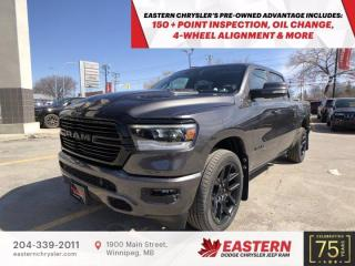 New 2021 RAM 1500 Sport | No Accidents | Panoramic Sunroof | for sale in Winnipeg, MB
