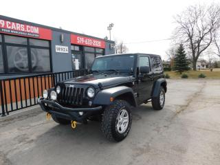 Used 2016 Jeep Wrangler SPORT|2 TOPS| for sale in St. Thomas, ON