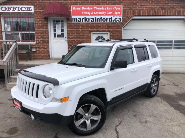 2016 Jeep Patriot High Altitude Htd Leather Sunroof Navigation 4x4