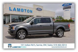 Used 2018 Ford F-150 4 Door Crew Cab Short Bed Truck for sale in Sarnia, ON