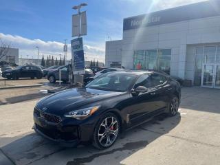Used 2018 Kia Stinger GT LTD/BREMBOBRAKES/AWD/LEATHER/NAV/SUNROOF for sale in Edmonton, AB