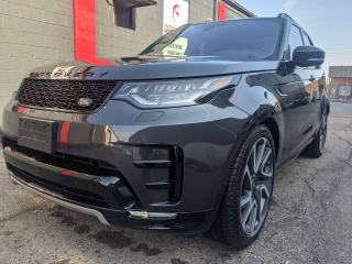 Used 2020 Land Rover Discovery HSE LUXURY * 7 PSNGR * FULLY EQUPPIED * BRAND NEW for sale in Burlington, ON