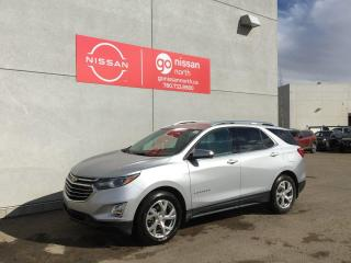 Used 2018 Chevrolet Equinox AWD/BLIND SPOT/LANE ASSIST/NAVIGATION/COOLED SEATS/HEATED STEERING for sale in Edmonton, AB