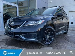 Used 2017 Acura RDX TECH - NAV, LEATHER, SUNROOF, HEATED SEATS, SPORTY AND LUX! for sale in Edmonton, AB