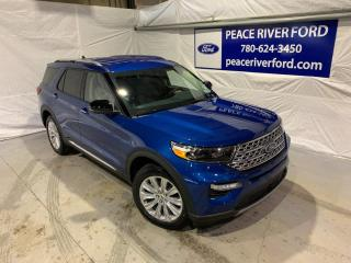 New 2021 Ford Explorer LIMITED for sale in Peace River, AB