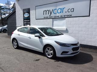 Used 2018 Chevrolet Cruze LT Auto HEATED SEATS, ALLOYS, BACKUP CAM, BLUETOOTH!! for sale in Richmond, ON