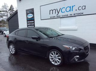 Used 2015 Mazda MAZDA3 GT SUNROOF, NAV, HEATED SEATS, HEADSUPDISPLAY!! for sale in Richmond, ON