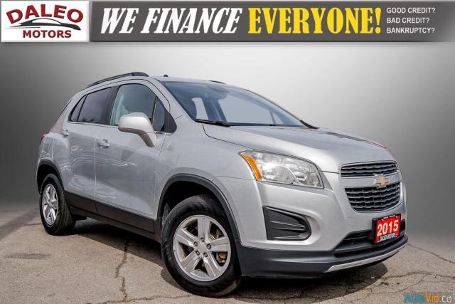 2015 Chevrolet Trax LT / BACK UP CAM / POWER DRIVER SEAT / LOW KMS
