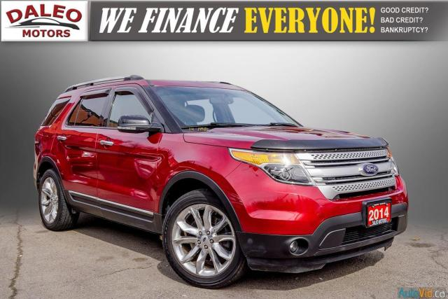 2014 Ford Explorer XLT / 7 PASS / LEATHER / PANO ROOF /  NAVI /