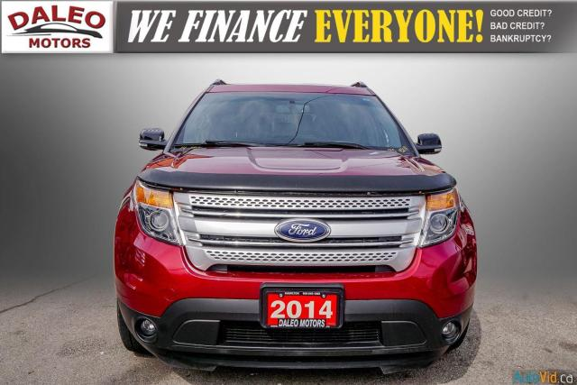 2014 Ford Explorer XLT / 7 PASS / LEATHER / PANO ROOF /  NAVI / Photo3