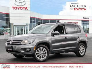 Used 2015 Volkswagen Tiguan Highline for sale in Ancaster, ON