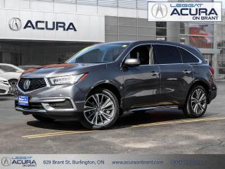 Used 2019 Acura MDX Tech Acura Certified, Clean Car Fax! (SOLD) for sale in Burlington, ON