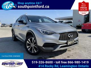 Used 2017 Infiniti QX30 QX30|AWD|LEATHER|HTD SEATS| for sale in Leamington, ON