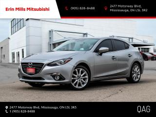 Used 2014 Mazda MAZDA3 GT-SKY|NO ACCIDENTS|NAV|CAM|ROOF|LEATHER for sale in Mississauga, ON