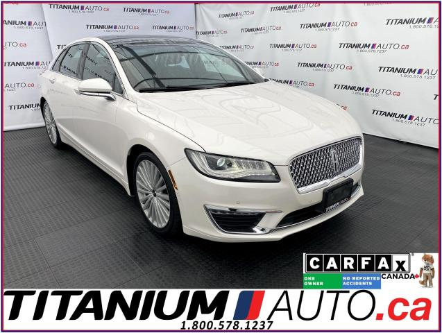 2017 Lincoln MKZ Reserve+AWD+Pano Roof+Safety PKG+Cooled Brown Seat