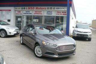 Used 2014 Ford Fusion SE Hybrid for sale in Toronto, ON