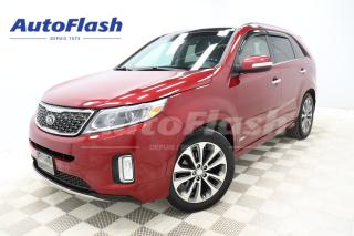 Used 2015 Kia Sorento SX V6 AWD *CUIR/LEATHER *GPS/CAMERA *TOIT-PANO for sale in Saint-Hubert, QC