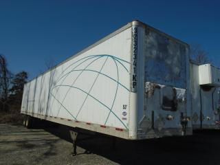 Used 2005 UTILITY 53 FOOT REEFER TRAILER for sale in Mississauga, ON