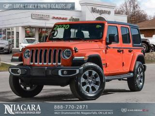 Used 2020 Jeep Wrangler Unl Sahara | Cold Weather Group for sale in Niagara Falls, ON