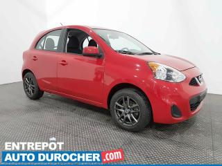 Used 2017 Nissan Micra S  Climatiseur - Automatique for sale in Laval, QC