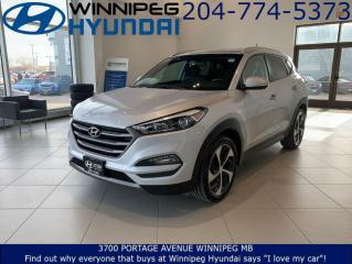 Used 2016 Hyundai Tucson Premium w/HSW for sale in Winnipeg, MB