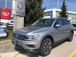 New 2021 Volkswagen Tiguan United 4MOTION for sale in Surrey, BC
