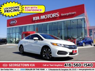Used 2014 Honda Civic COUPE EX | B/U CAM | SUNROOF| HTD SEATS| BT | 63K| TINTS for sale in Georgetown, ON
