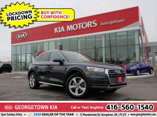 Used 2018 Audi Q5 PROGRESSIV | 1 OWNR | CLN CRFX | LTHR | NAV | 35K for sale in Georgetown, ON