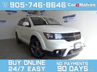Used 2014 Dodge Journey CROSSROAD | DVD PLAYER | LEATHER | NAV | SUNROOF for sale in Brantford, ON