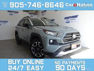Used 2019 Toyota RAV4 TRAIL | AWD | LEATHER | SUNROOF | TOUCHSCREEN for sale in Brantford, ON