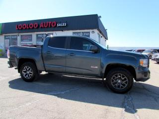 Used 2015 GMC Canyon SLE All Terrain Crew Cab 4WD Navigation Camera Certified for sale in Milton, ON