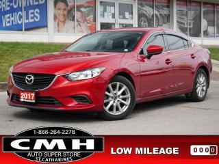 Used 2017 Mazda MAZDA6 GS  NAV CAM ROOF LEATH P/SEAT HTD-S/W 17-AL for sale in St. Catharines, ON