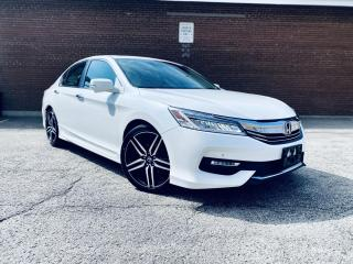 Used 2017 Honda Accord TOURING, NAVIGATION, LEATHER, B-CAM, SUNROOF TOURING! for sale in Scarborough, ON