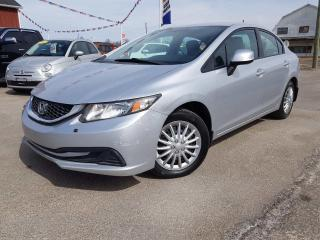 Used 2013 Honda Civic LX NO ACCIDENTS! for sale in Dunnville, ON