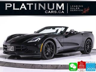 Used 2017 Chevrolet Corvette STINGRAY Z51,3LT, 460HP, AUTO, NAV, CAM, HUD for sale in Toronto, ON