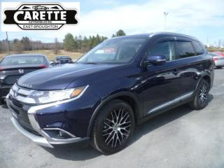 Used 2018 Mitsubishi Outlander Gt s-awc(4x4)  7 passagers for sale in East broughton, QC