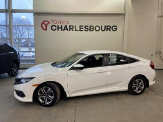 Used 2016 Honda Civic LX - Automatique - Bas km! for sale in Québec, QC