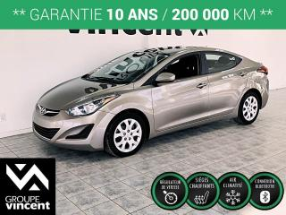 Used 2016 Hyundai Elantra GL ** GARANTIE 10 ANS ** Fiable et confortable! for sale in Shawinigan, QC
