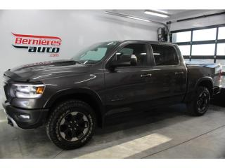 Used 2019 RAM 1500 REBEL CREW CAB 4X4 V8 5.7 HEMI BOITE DE 5.7'' for sale in Lévis, QC