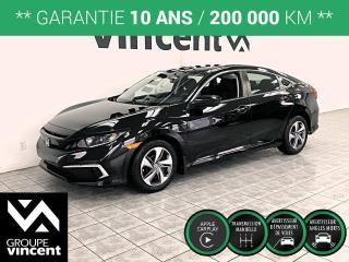 Used 2019 Honda Civic LX ** GARANTIE 10 ANS ** Récent, à bas prix! for sale in Shawinigan, QC