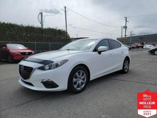 Used 2014 Mazda MAZDA3 GX - A/C + FINANCEMENT FACILE !!! for sale in St-Eustache, QC